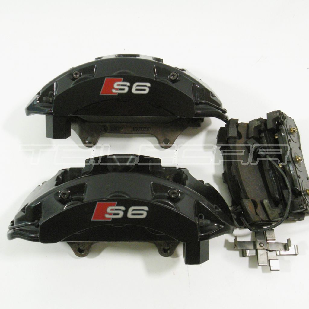 audi a6 s6 bremss ttel brembo va front brake calipers 4g0615105 4g0615106. Black Bedroom Furniture Sets. Home Design Ideas
