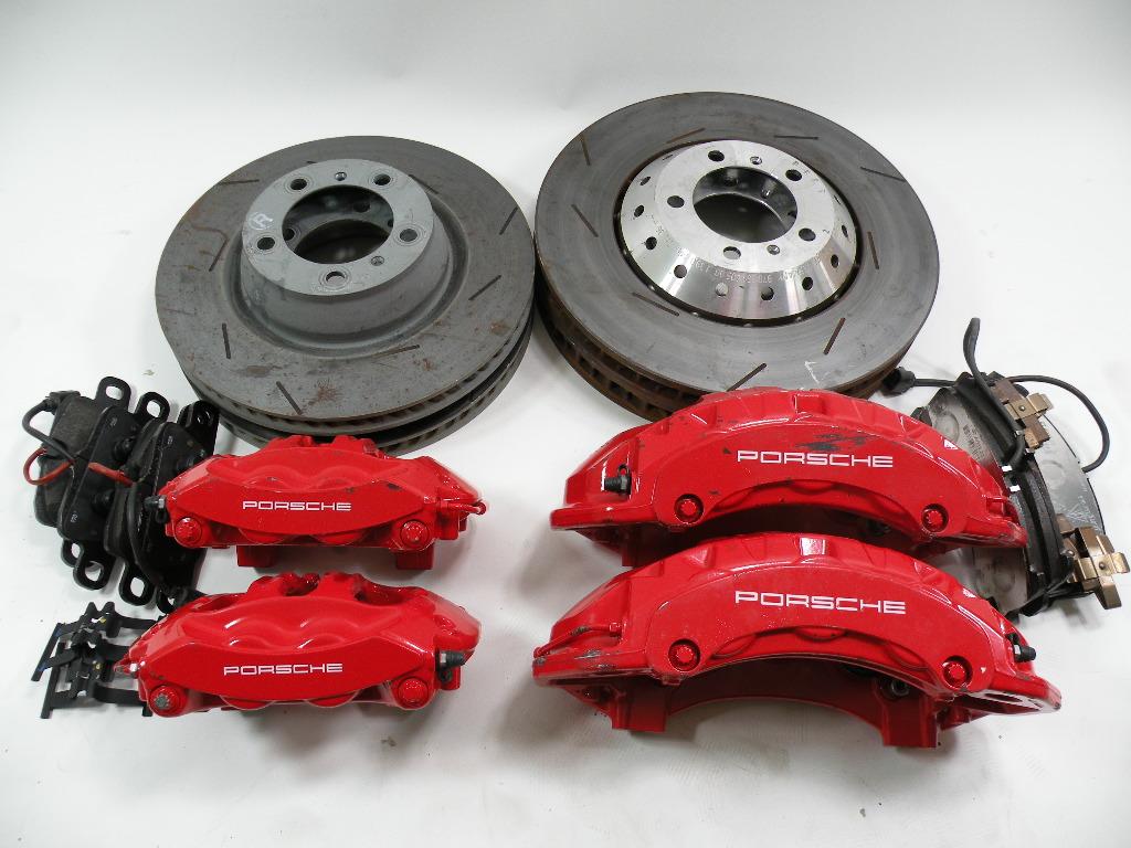 Porsche Panamera Turbo Bremsanlage VH Brakes Front  Rear
